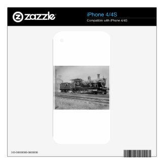 train steam locomotive engine old railway railroad skin for the iPhone 4S