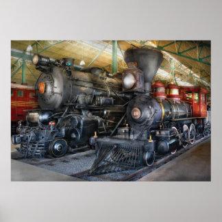 Train - Steam Locomotives Poster