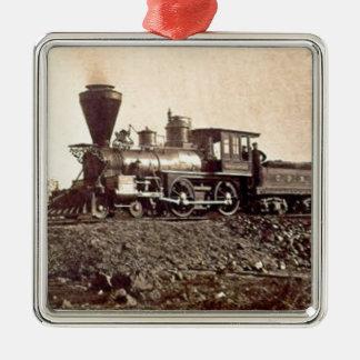 train steam rail engine railway old vintage christmas tree ornaments