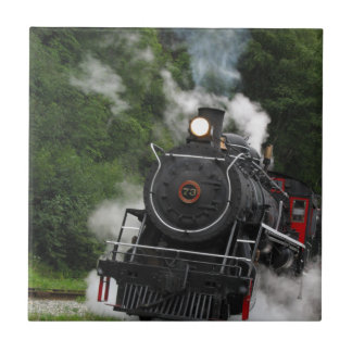 train steam rail railway station engine rails art ceramic tiles