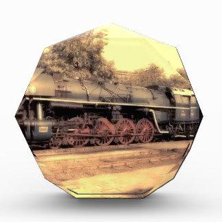 Train Steam Railroad Steampunk Engine Destiny Acrylic Award