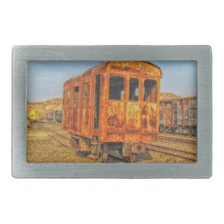 Train Steam Railroad Steampunk Engine Destiny Belt Buckles