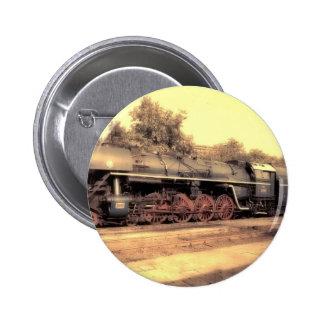Train Steam Railroad Steampunk Engine Destiny Pin