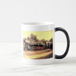 Train Steam Railroad Steampunk Engine Destiny Magic Mug