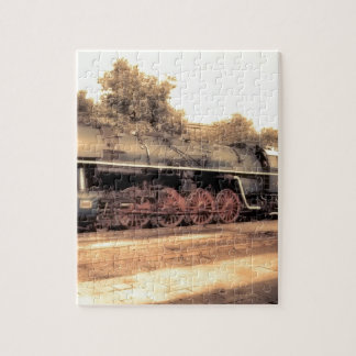 Train Steam Railroad Steampunk Engine Destiny Puzzles