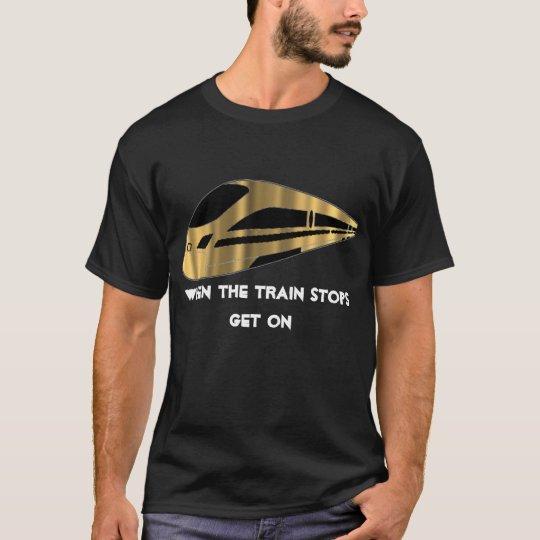 Train Stop Shirt-Mens T-Shirt
