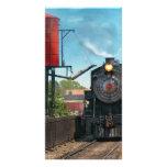 Train - Strasburg Number 9 Custom Photo Card