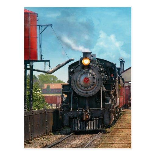 Train - Strasburg Number 9 Post Card