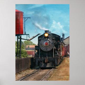 Train - Strasburg Number 9 Print