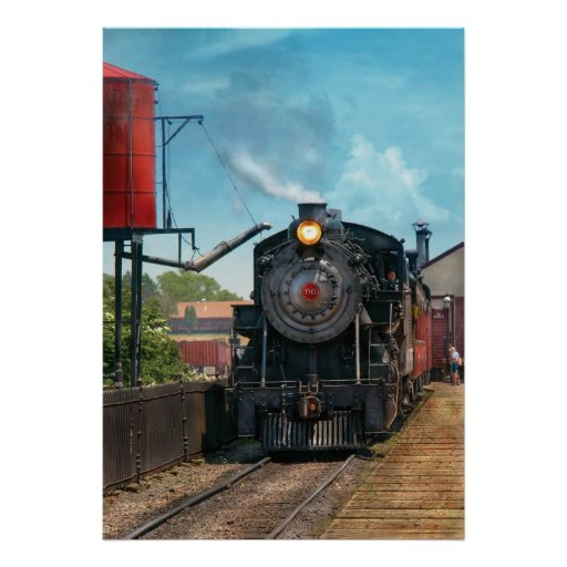 Train - Strasburg Number 9 Print