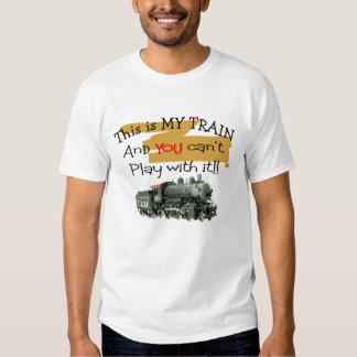 Train T-Shirt, Men's Shirt