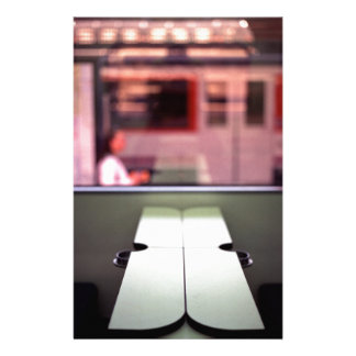Train table and station Hasselblad medium format 1 Stationery