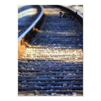 Train Tacks Card