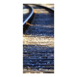 Train Tacks Personalized Rack Card