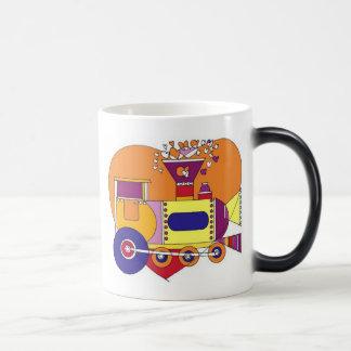 train that disappears coffee mug