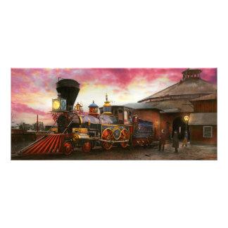 Train - The JH Devereux 1862 Rack Card