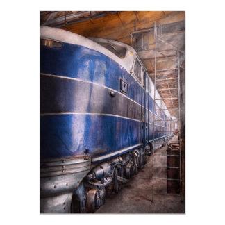Train - The maintenance facility Card