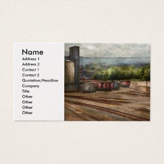 Train - The train graveyard Business Card