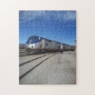 Train to California Jigsaw Puzzles