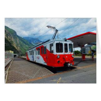 Train to Chamonix Card