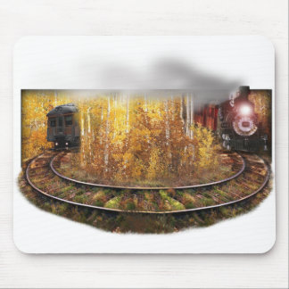 Train to Nowhere Mouse Pad