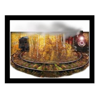 Train to Nowhere Postcard