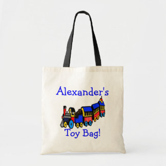 Train-Toy Bag Personalize it