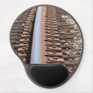 Train Track Gel Mouse Pad