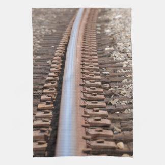 Train Track Towel