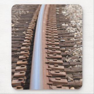 Train Track Mouse Pad