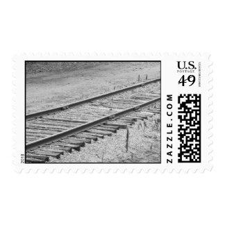 Train Track Postage