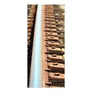 Train Track Rack Card