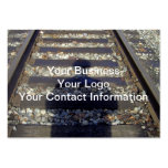 Train Track Shadow Business Card Template