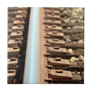 Train Track Ceramic Tiles