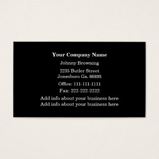 Train Tracks Business Card