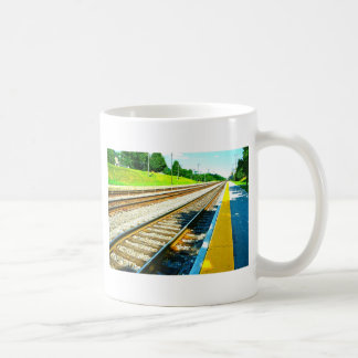 Train Tracks Coffee Mug
