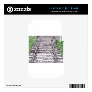 Train Tracks Decals For iPod Touch 4G