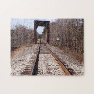 Train Tracks Puzzle