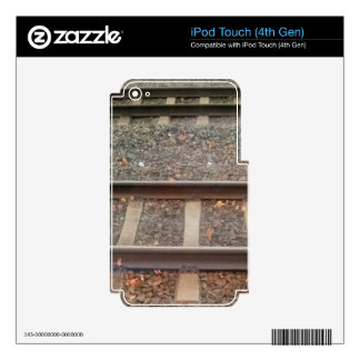 Train Tracks, Railway Skins For iPod Touch 4G