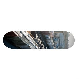 train tracks skateboards