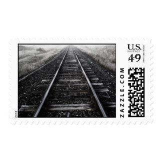 Train Tracks Stamps