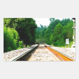 Train Tracks Sticker