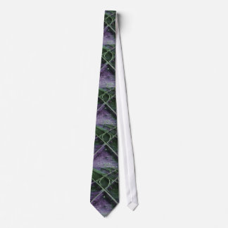 Train Tracks Watercolor Art Tie