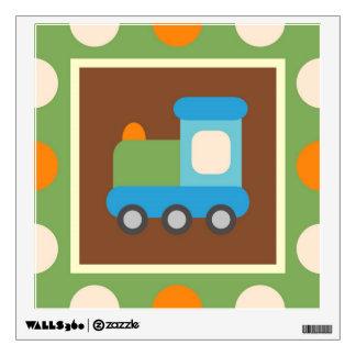 Train Transportation Theme Nursery Kids Wall Decal