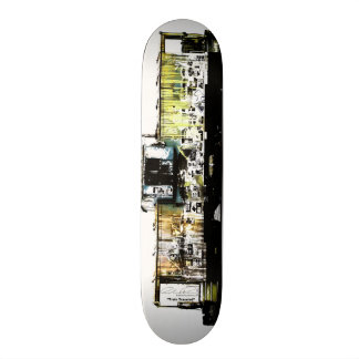 Train Traveled Skate Board Decks