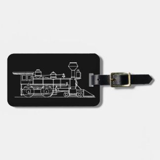 Train Traveler Tag For Luggage
