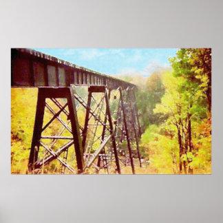 Train Trestle Print