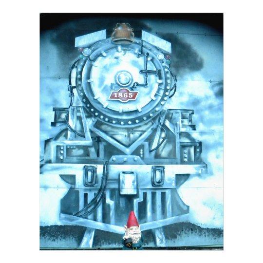 Train Tunnel Gnome Letterhead