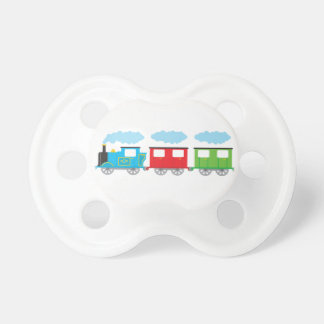 Train & Two Carriages Pacifier