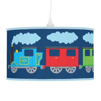 Train & Two Carriages Pendent Lamp